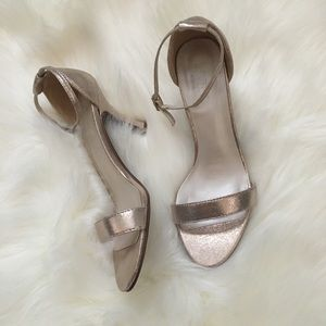 Shoes worn one time for a wedding. LIGHTLY used.